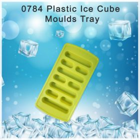 0784 Plastic Ice Cube Moulds Tray -