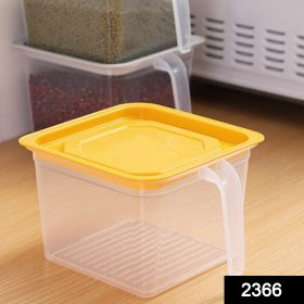 2366 Square Food Storage Containers With Handle (1 PC) -
