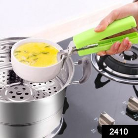 2410 Home Kitchen Anti-Scald Plate Take Bowl Dish Pot Holder Carrier Clamp Clip Handle -
