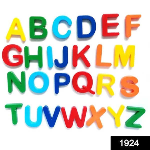 1924 Magnetic Letters to Learn Spelling -
