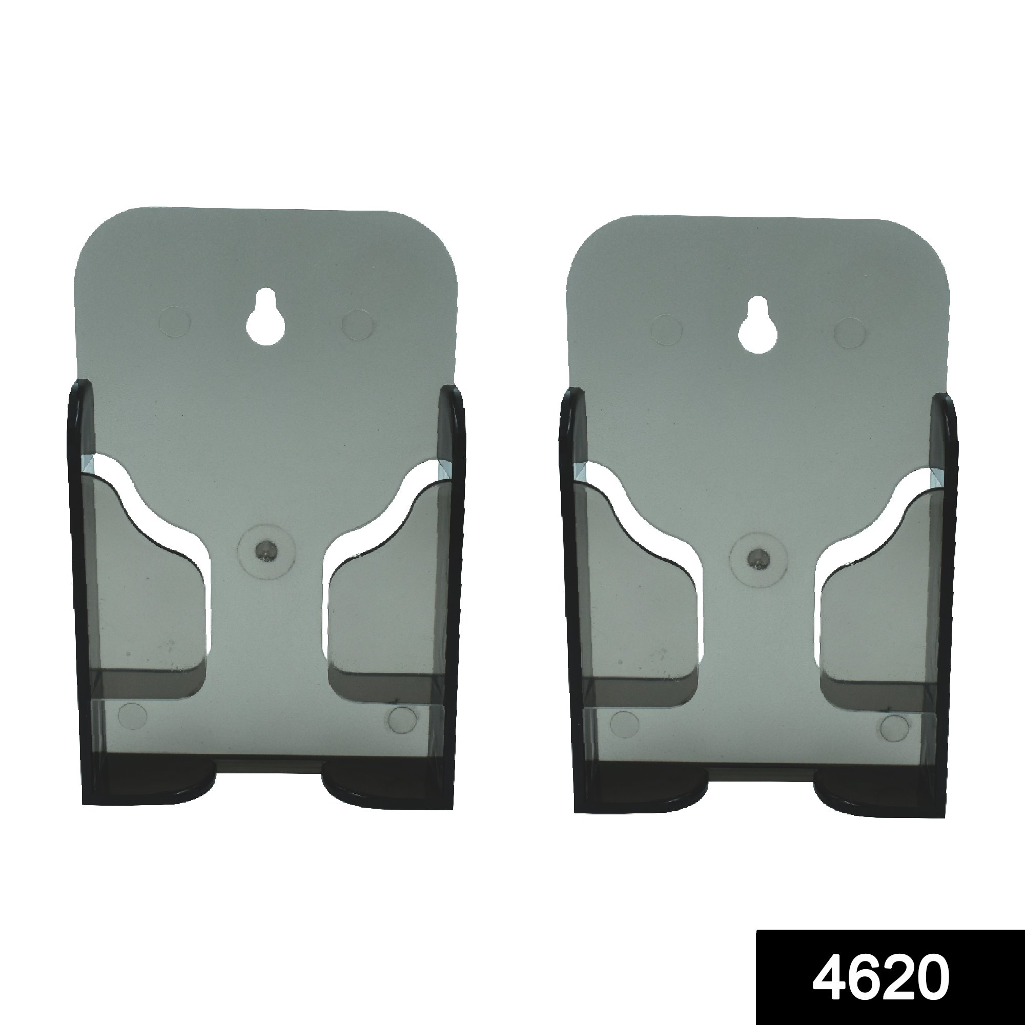 4620 Black Mobile Phone Wall Stand Mobile Holder for Smartphone Home -