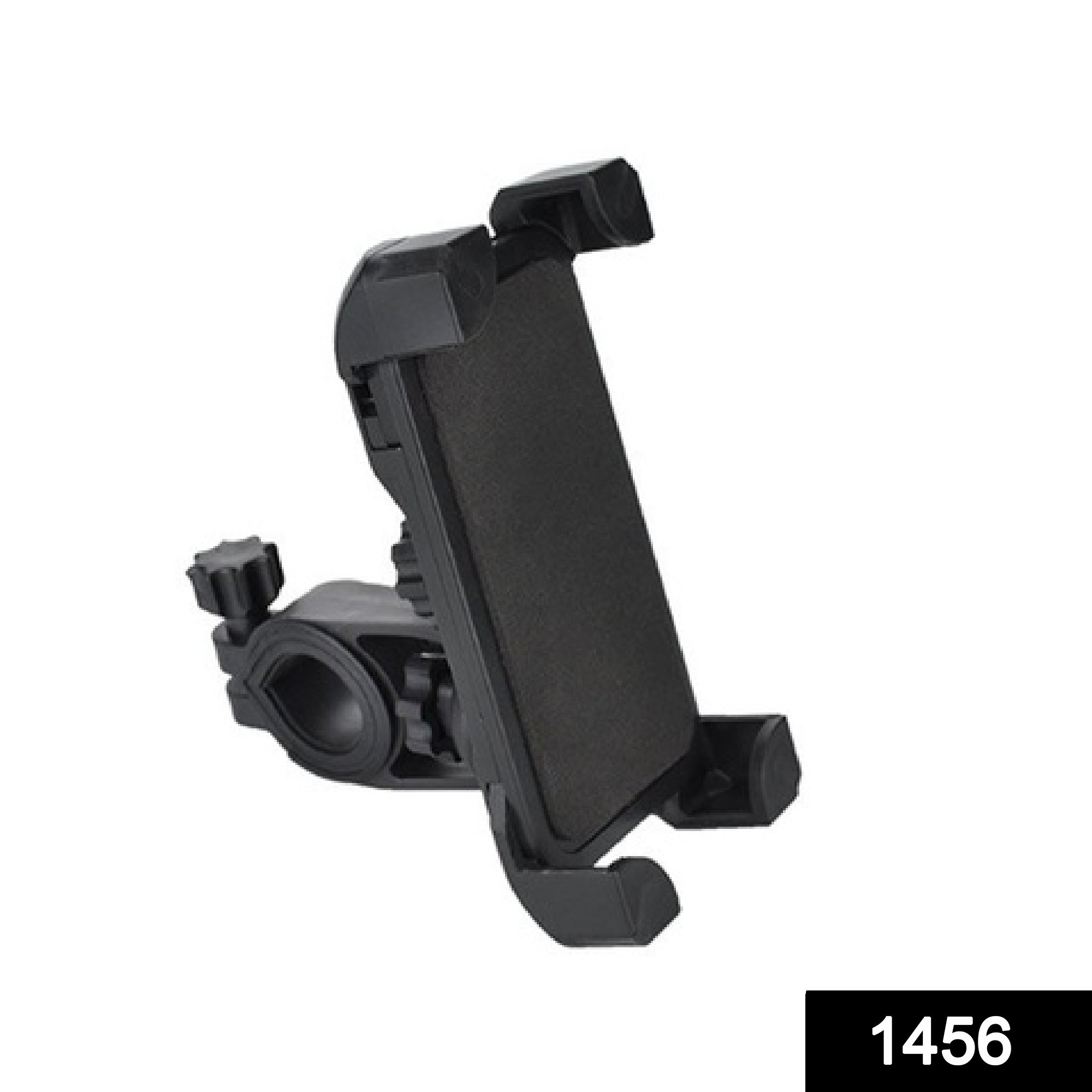 1456 Bike Phone Mount Anti Shake and Stable Cradle Clamp with 360° Rotation -