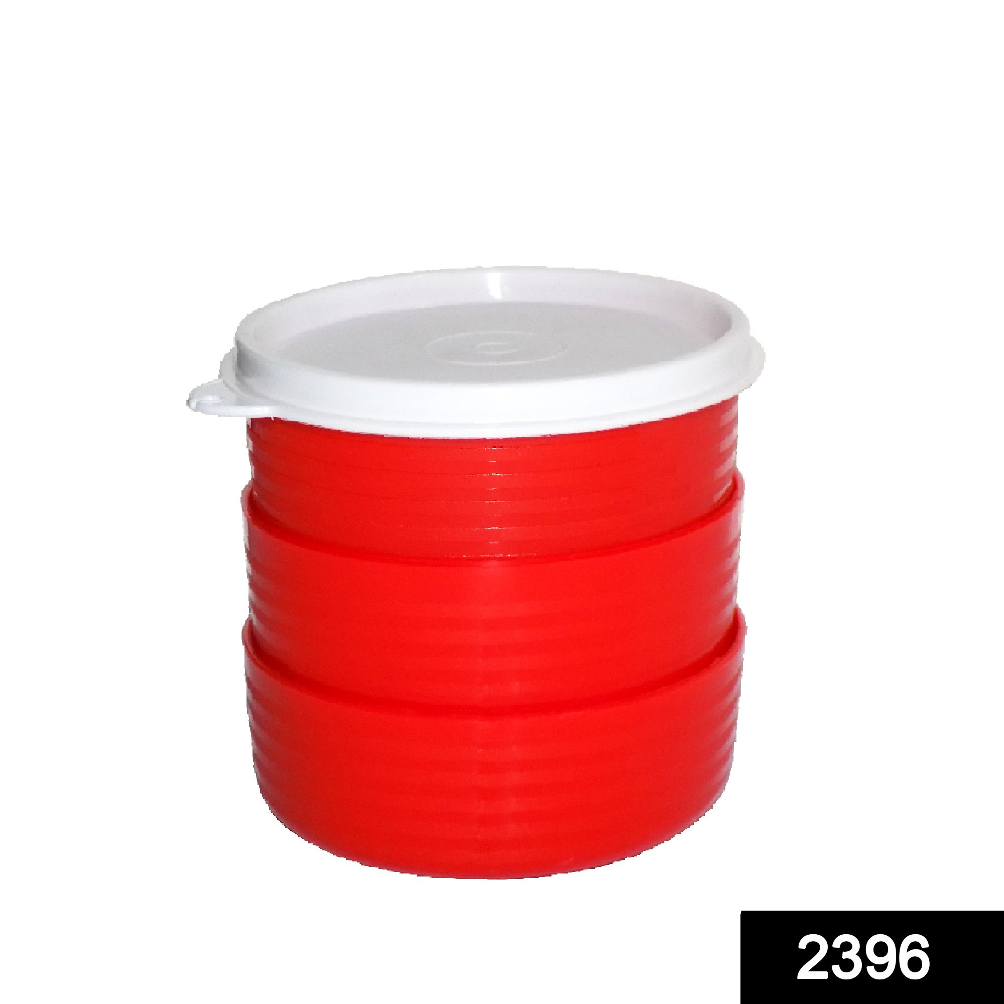 2396 Classics Food Container with Leak Proof Lid (Pack of 3) -