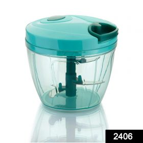 2406 Vegetable Cutter Chopper for Kitchen with 5 Stainless Steel -