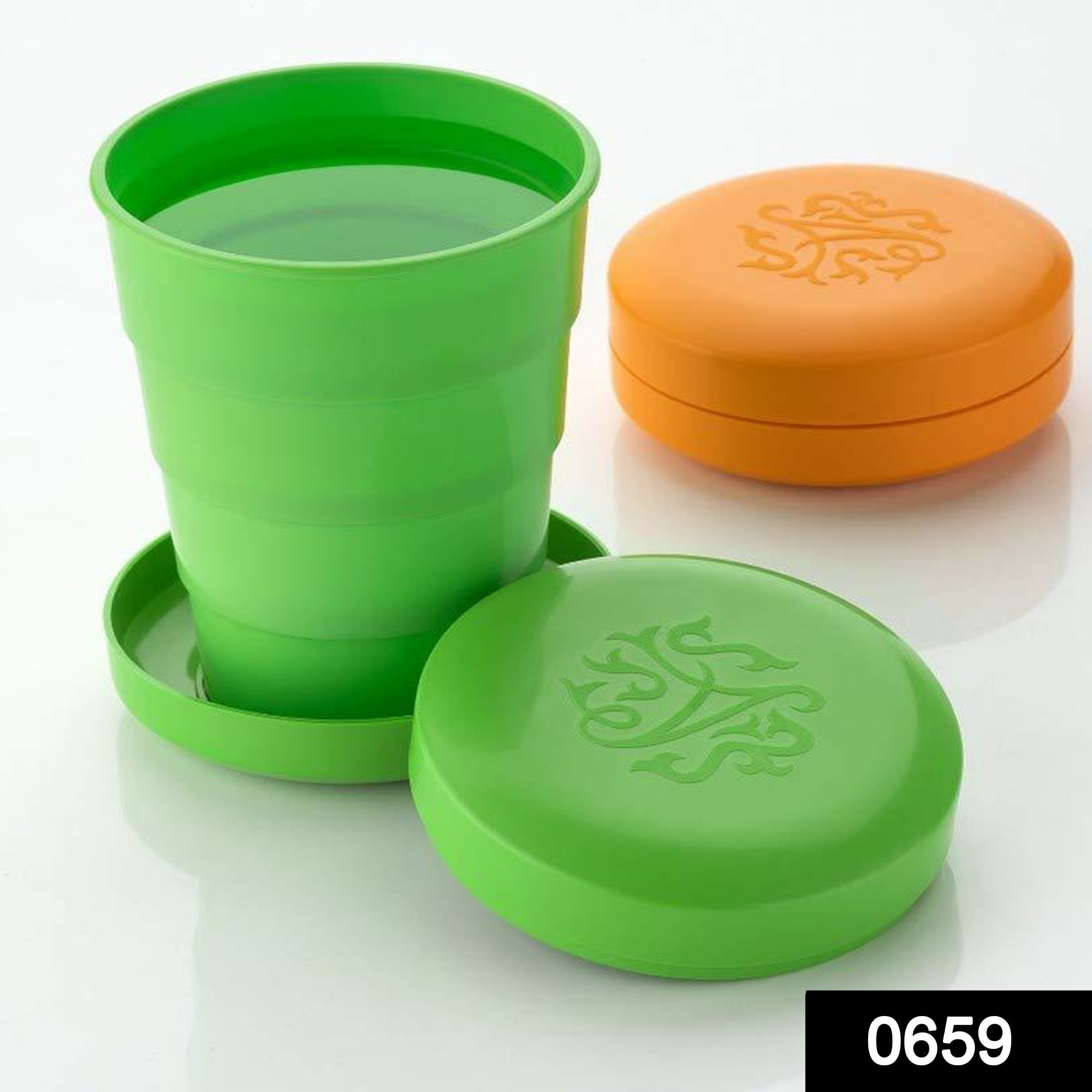 0659 Portable Travelling Cup/Tumbler With Lid -