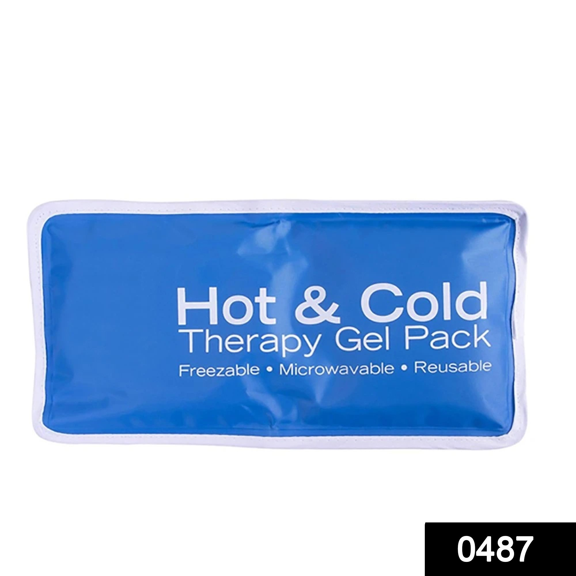 0487 Medical Flexible Hot and Cold Reusable Gel Packs -