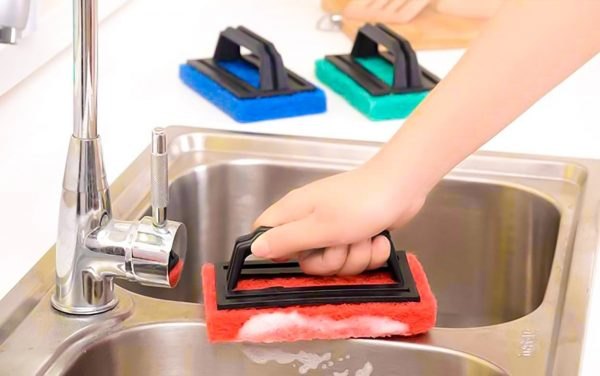3408 Tile cleaning multipurpose scrubber Brush with handle -