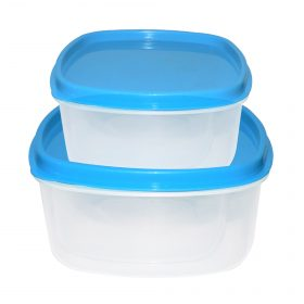 2196 Airtight Kitchen Storage Container for Multipurpose Use ( Set of 2) -