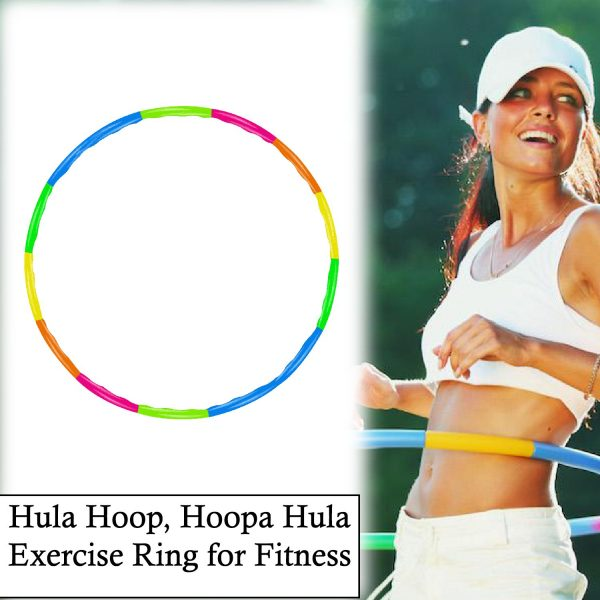 1664 Hula Hoop, Hoopa Hula, Exercise Ring for Fitness -