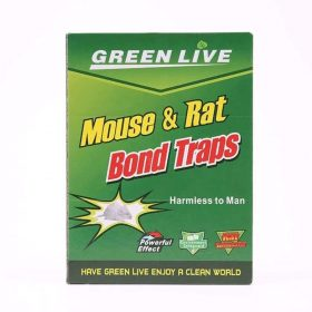 1238 Mice Traps Sticky Boards Strongly Adhesive That Work Capturing Indoor and Outdoor -