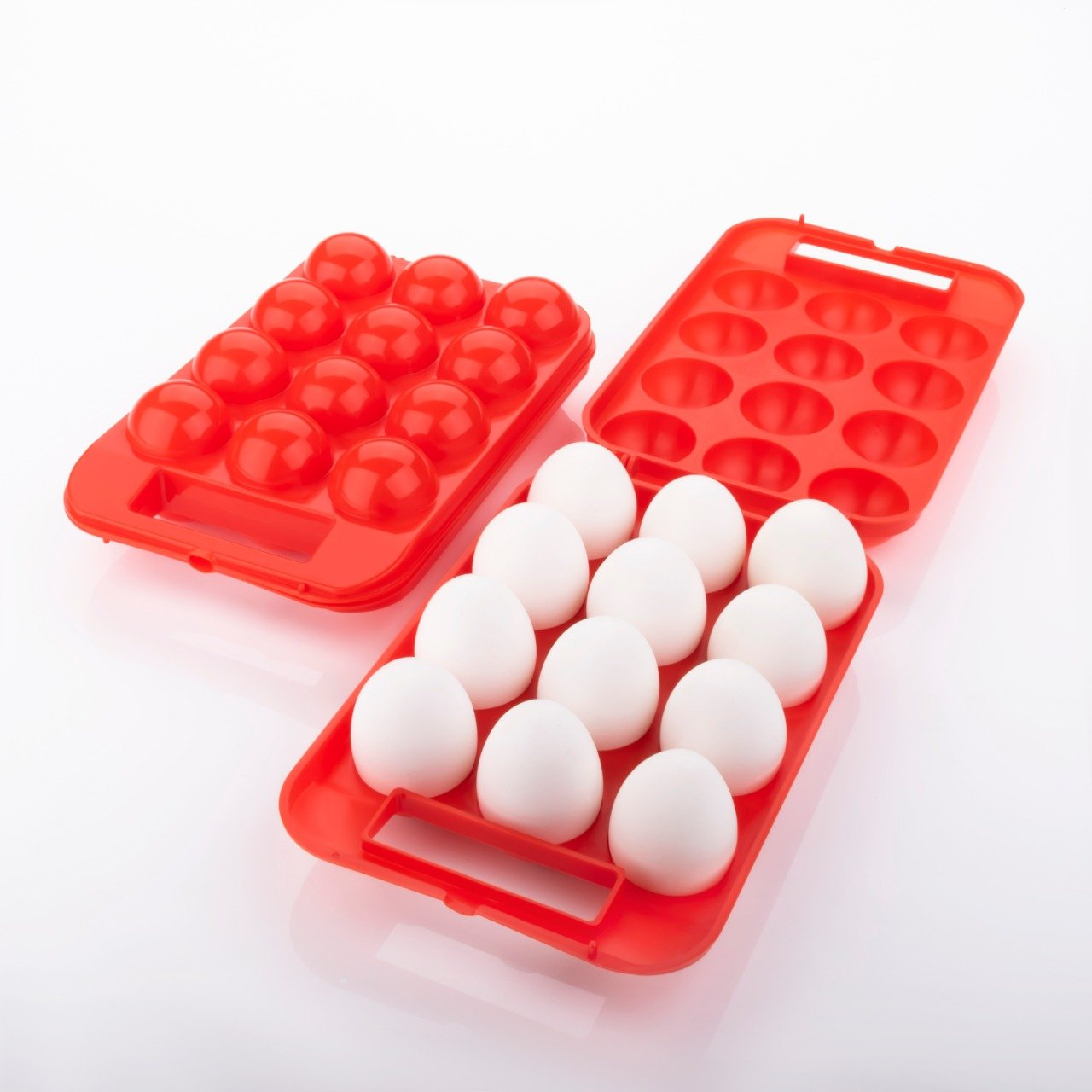 2171 Plastic Egg Carry Tray Holder Carrier Storage Box -