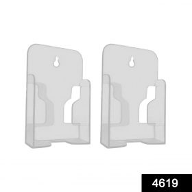 4619 White Mobile Phone Wall Stand Mobile Holder for Smartphone Home -