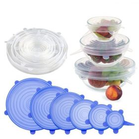 2118 Silicone Lid Set, Silicon lids for containers, Silicon Stretchable lids, Silicone lids and Cover -