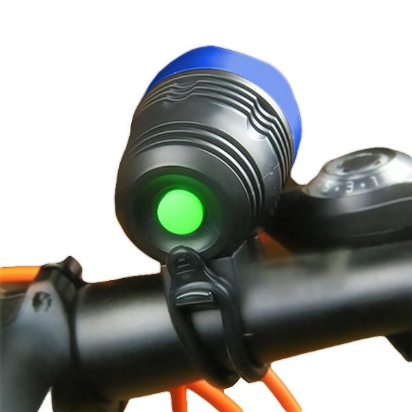 0562 Bicycle Front Light  Zoomable LED Warning Lamp Torch Headlight Safety Bike Light -