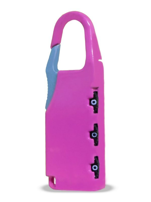 1243 Round Resettable Code Number Padlock -
