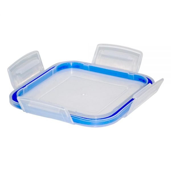 3682 Plastic Airtight Locked Food Storage Containers For Kitchen (600ml) (multicolour) -