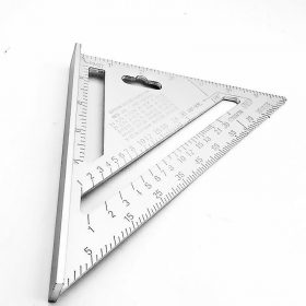 1559 Double Side Scale Triangle Measurement Hand Tool -