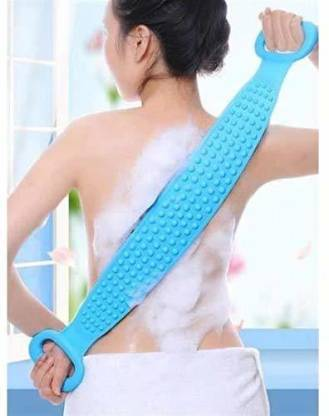 1308 Silicone Body Back Scrubber Bath Brush Washer For Dead Skin Removal (With Box) -